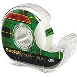 Scotch® Magic Tape 810D Dispenser 19mmx32.9m Transperent/White