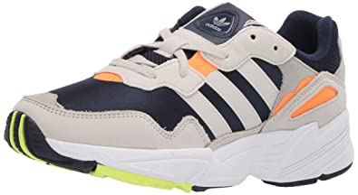 premium selection b0c2b 5543f adidas Originals Men s Yung-96, Collegiate Navy raw White Solar Orange 5