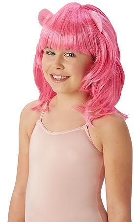 Accesorio - peluca elegante de Pinkie Pie My Little Pony oficial (tamaño único): Amazon.es: Juguetes y juegos