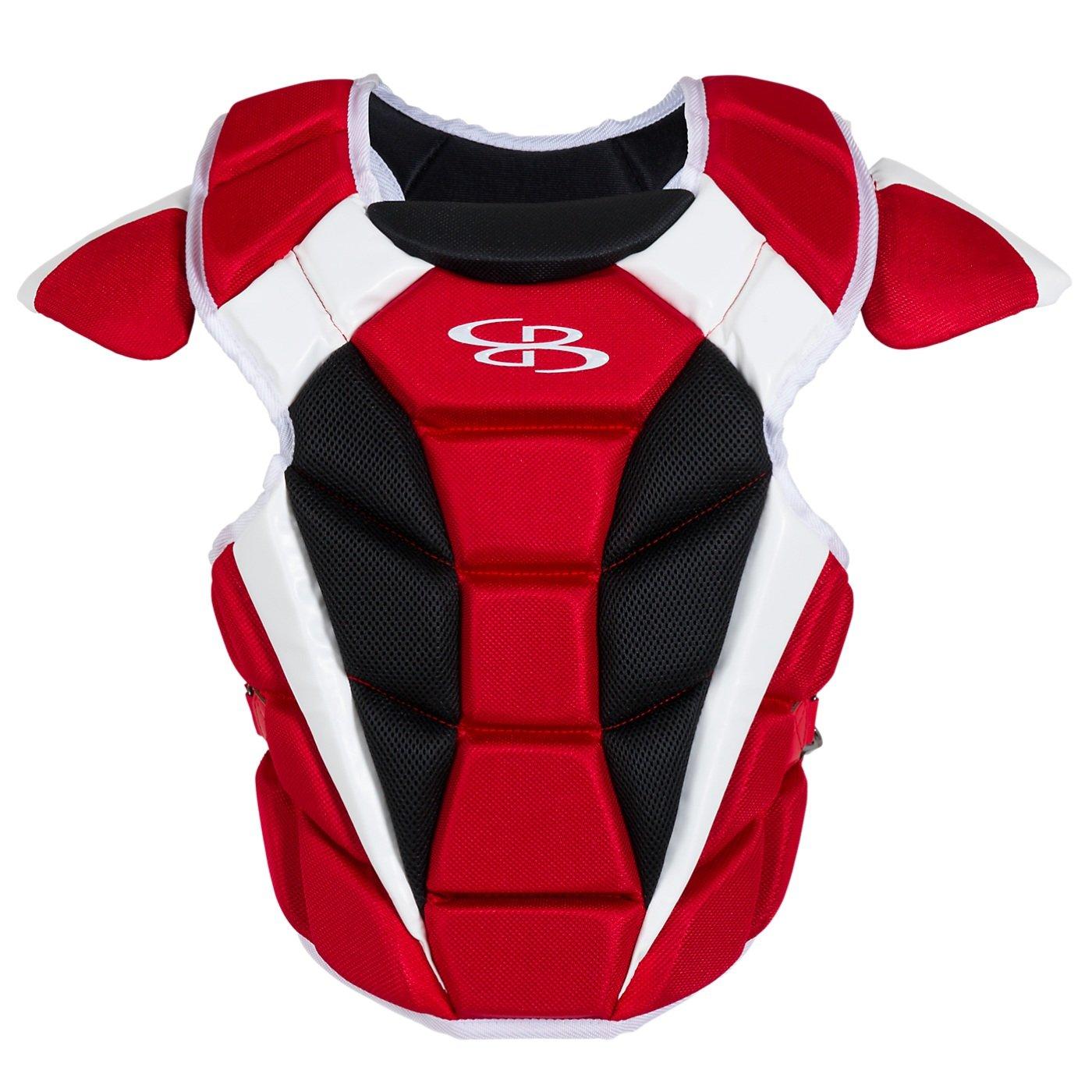 Boombah Defconメンズ野球/ソフトボール胸プロテクター – 複数色 – 複数のサイズ B01NACUCM5 Adult-16.5
