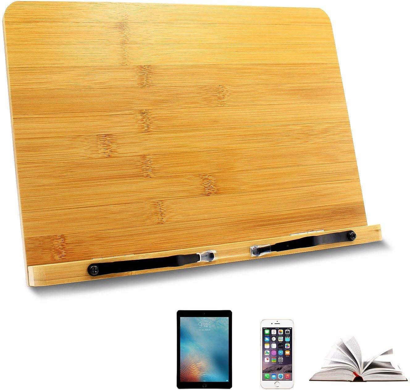 Ulable soporte para libro,soporte de libro para lectura, atril de ...