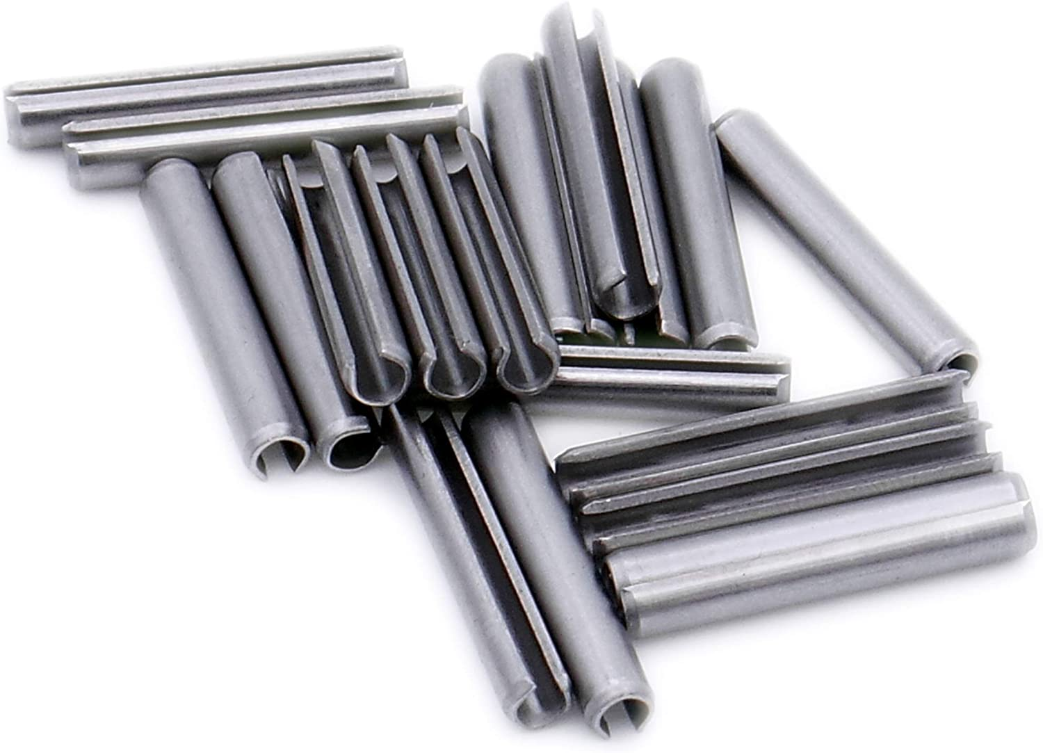 A1 Heavy Pack of 20 D5 5mm x 32mm - Stainless Steel Slotted Spring Pin