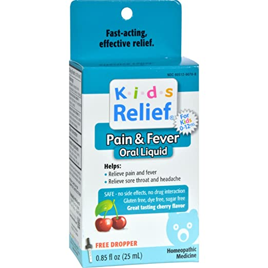 Homeolab USA Kids Relief Pain & Fever