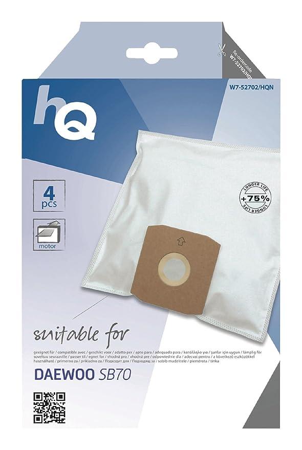Amazon.com: HQ Bolsa de aspiradora Daewoo sb70 [W7 – 52702 ...