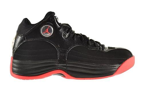 cfff92e50f62a Jordan Jumpman Team 1 Men's Shoes Black/Infrared-White 644938-023 ...