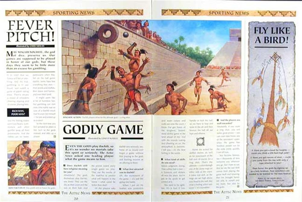 History News The Greatest Newspaper in Civilization The Aztec News