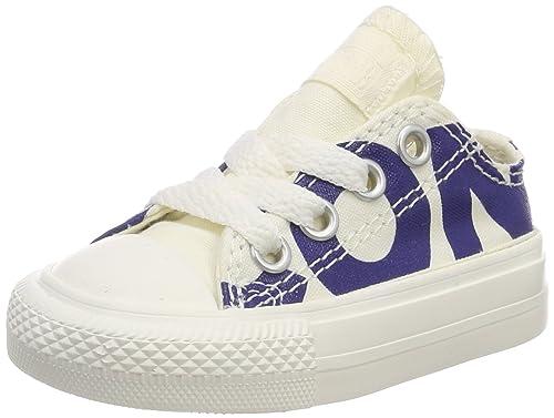 Converse CTAS Ox Natural/Blue/Egret, Zapatillas Unisex Niños: Amazon.es: Zapatos y complementos
