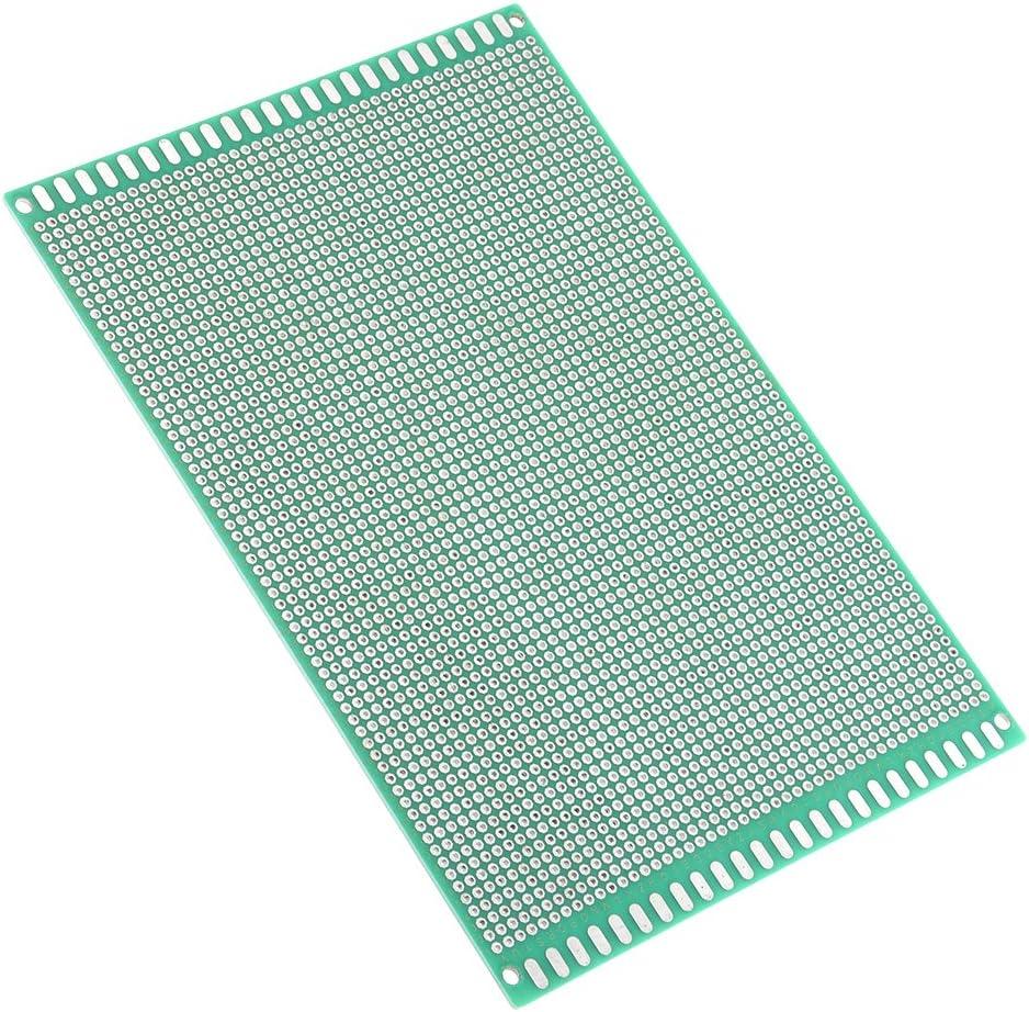 sourcing map 10x15cm Double face Universel Circuit imprim/é pour DIY Soudure 10pc