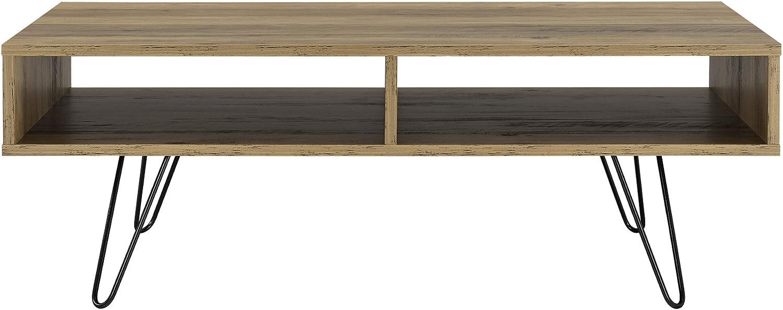en.casa ® Couchtisch 110x60x35cm Wohnzimmertisch Beistelltisch Beton-Optik MDF