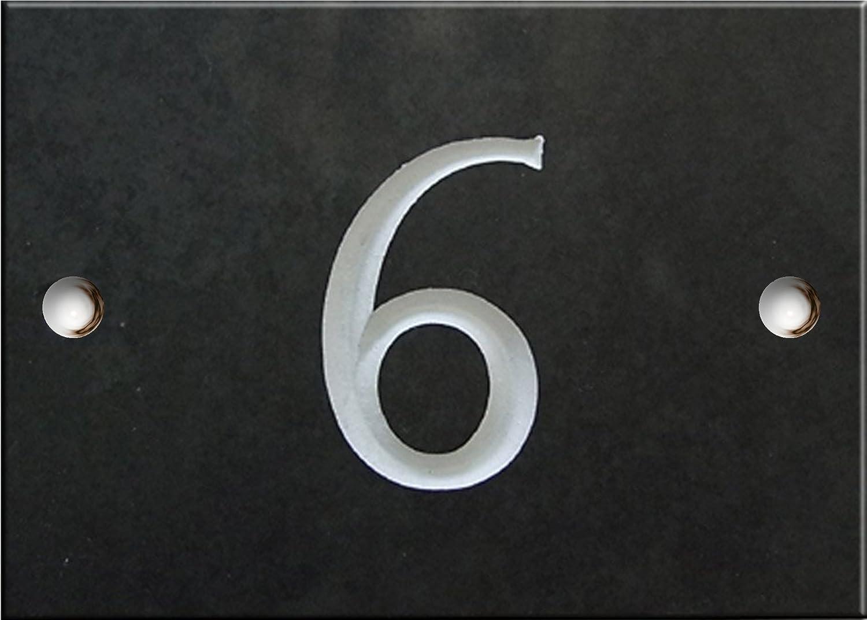 s/électionnez votre num/éro ici 1 /à 99 Atlantic Hardware Num/éros de maison ardoise - num/éro 8