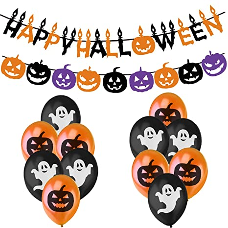 Decorazioni Halloween - Festone Happy Halloween d88dda0d889c