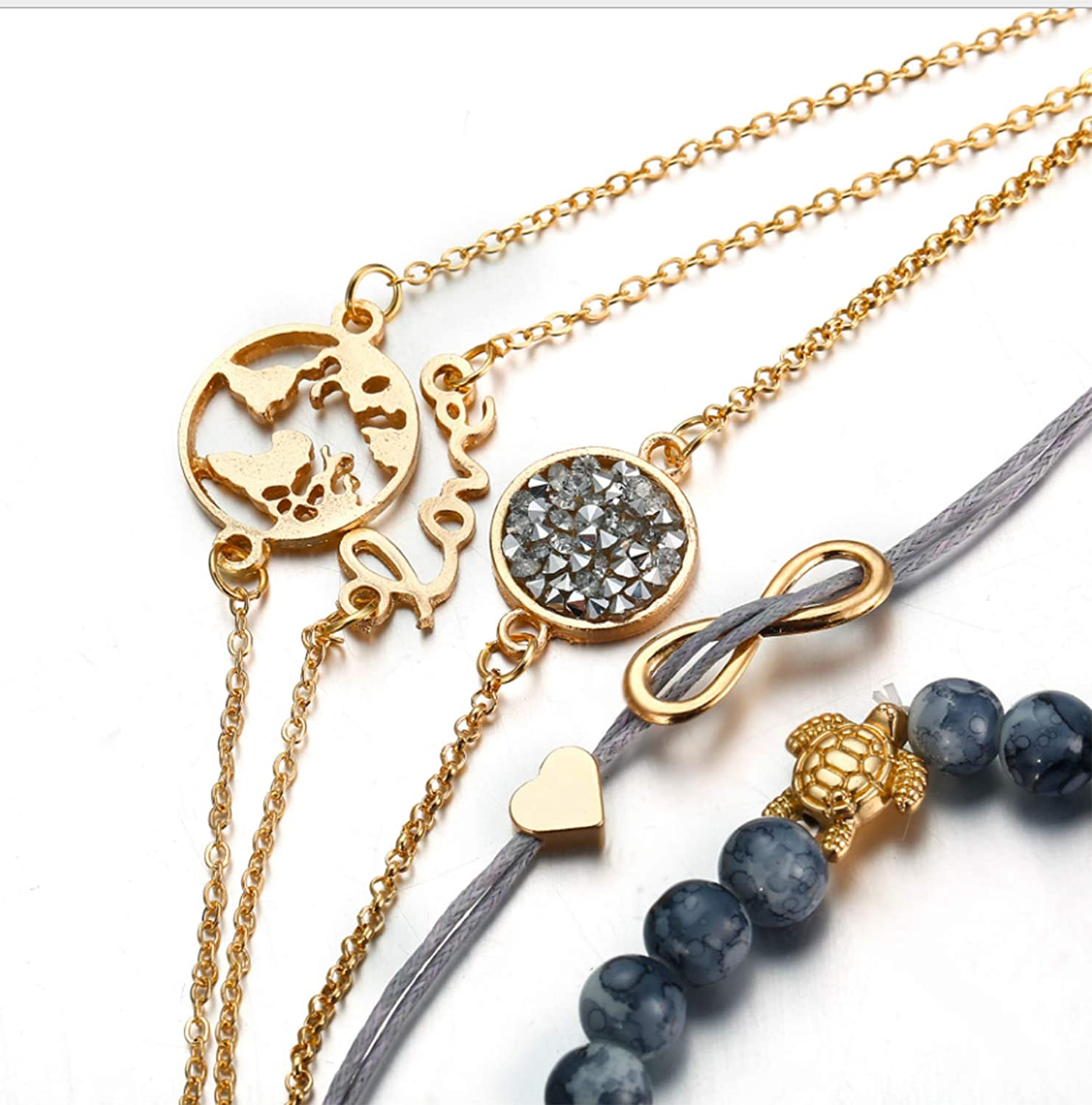 Valentines Day Mutong Retro Vintage Hand 、Anklets Bracelet Bangle Wrist Band Hand 、Anklets Chain Charm