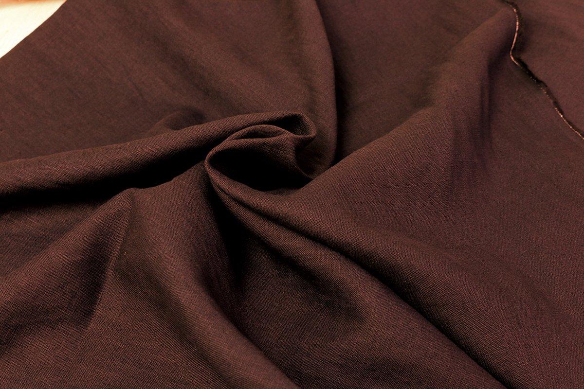 NBK リネンキャンバス生地 麻100% 巾130cm×9m切売カット レンガ YS22277-8-9M 手芸ハンドメイド用品 9M  B079VX78TD