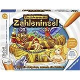 """Ravensburger tiptoi Spiel """"Das Geheimnis der Zahleninsel"""" - 00512 / Mathematik lernen in 4 Schwierigkeitsstufen: Spannendes Lernspiel für Kinder von 5 - 10 Jahre"""