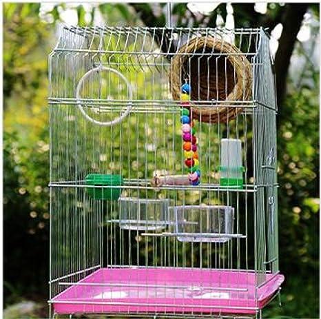 BCX Jaula de pájaros: material de metal para evitar la oxidación ...