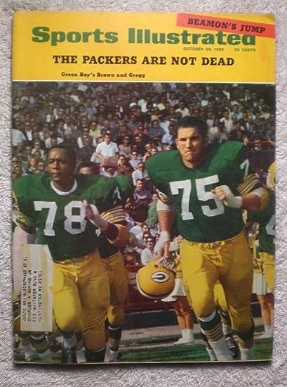 1968 GREEN BAY PACKERS NFL FOOTBALL TEAM 8X10 PHOTO