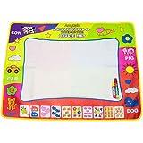 "Aqua Doodle Drawing Mat Pen - Amytalk 4 Color Children Water Drawing Mat Board & Magic Pen Doodle Kids Educational Toy Gift 31.5"" x 23.62"""