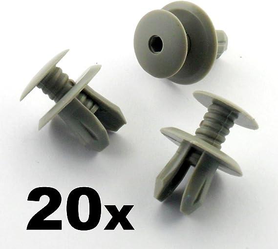 50/x Puerta Envuelto Clips de montaje soporte para Volkswagen Transporter T4/T5/Negro