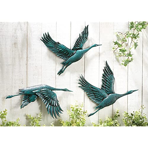 Metal Birds Wall Art: Amazon.com