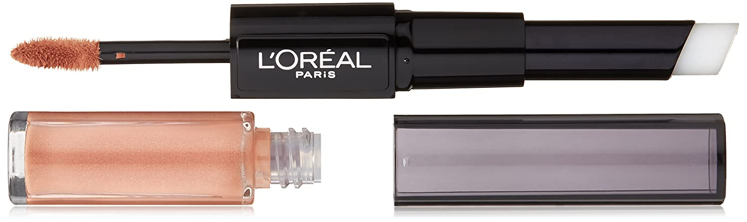 L'Oreal Paris Cosmetics Infallible Pro-Last Color Lip Gloss, Lasting Ginger