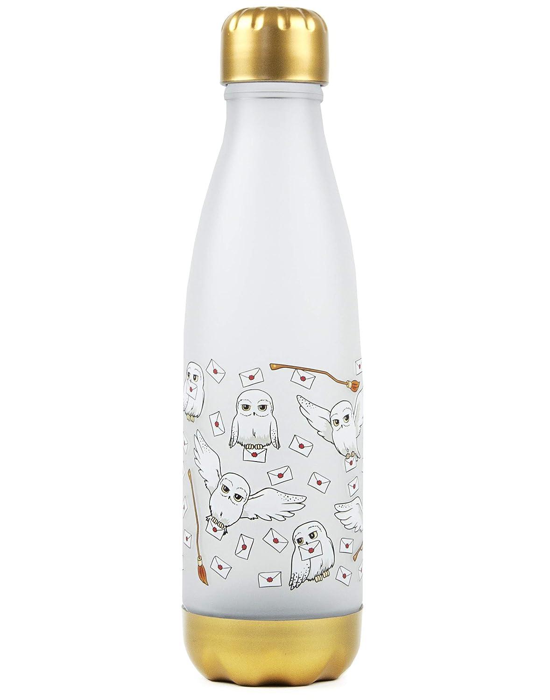 Botella Harry Potter Hedwig Carta b/úho 600ml de pl/ástico de bebidas