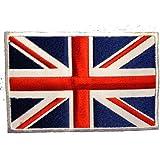 REINO UNIDO INGLATERRA Arco iris Gran Bretaña Bandera Parche ' 9,0 x 6,0 cm ' - Parche Termoadhesivos Bordado Parches Para La Ropa Termoadhesivo Apliques Iron on Patch Catch The Patch