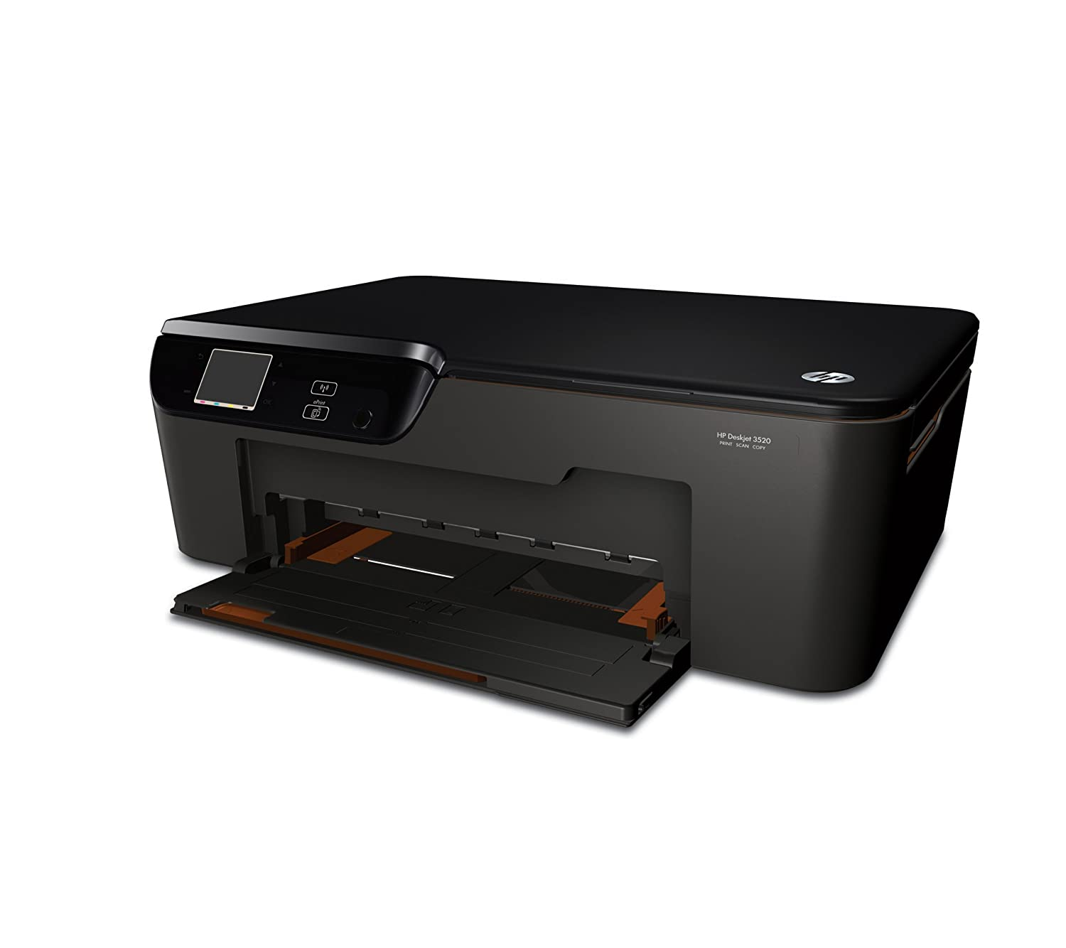 HP Deskjet 3520 e-All-in-One - Impresora multifunción de tinta color (A4, monocromático 8 páginas por minuto, color 7.5 páginas por minuto, USB 2.0, ...