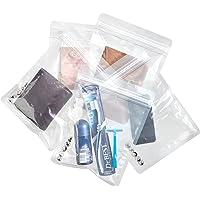 SWISSONA 5 Ziplock Beutel, wasserdicht, geruchsdicht, transparent für Handy, Tablet oder Dokumente   1-Liter Zip Beutel, Druckverschlussbeutel, Schutzhülle