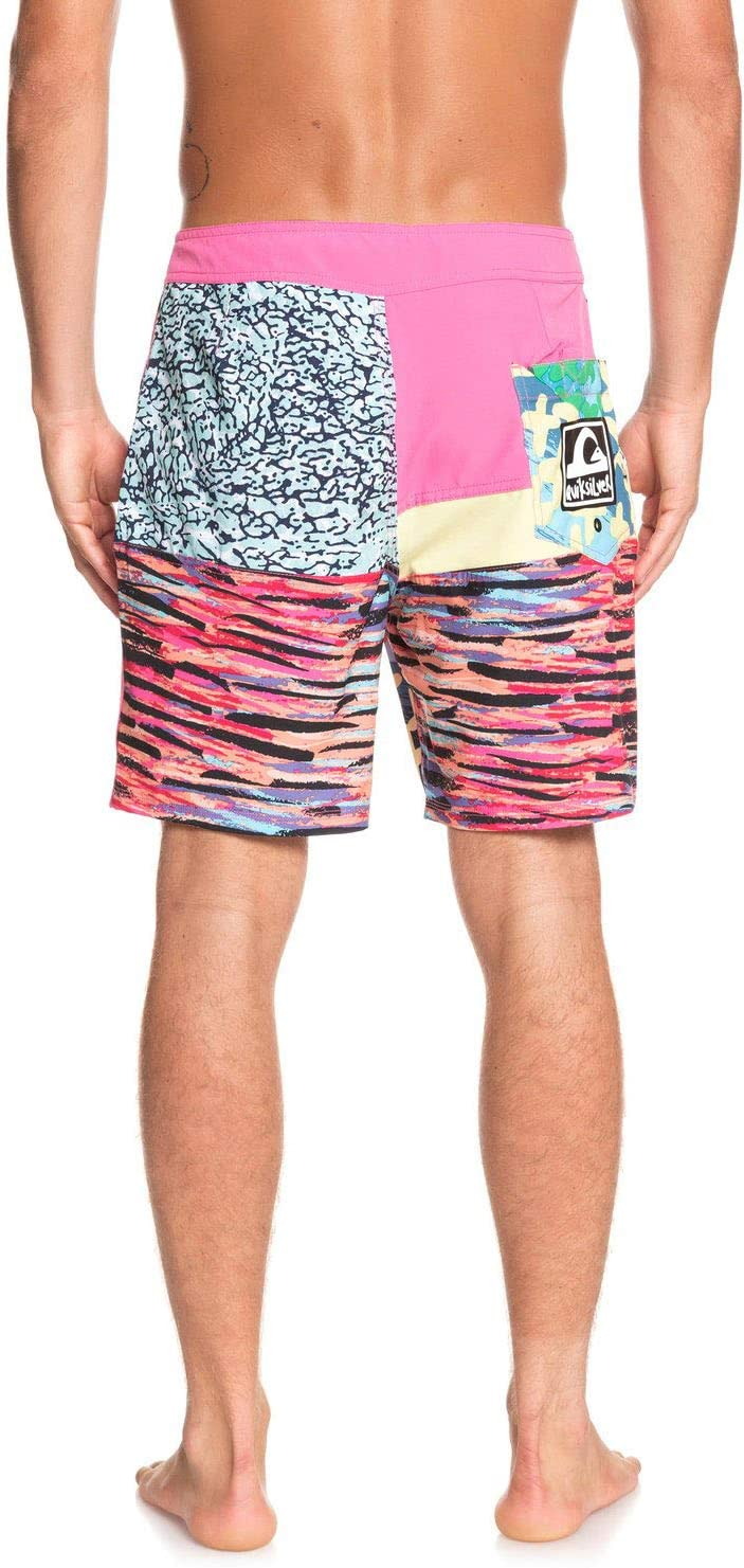 Quiksilver Mens Highline More Paint 18 Board Shorts for Men Boardshorts