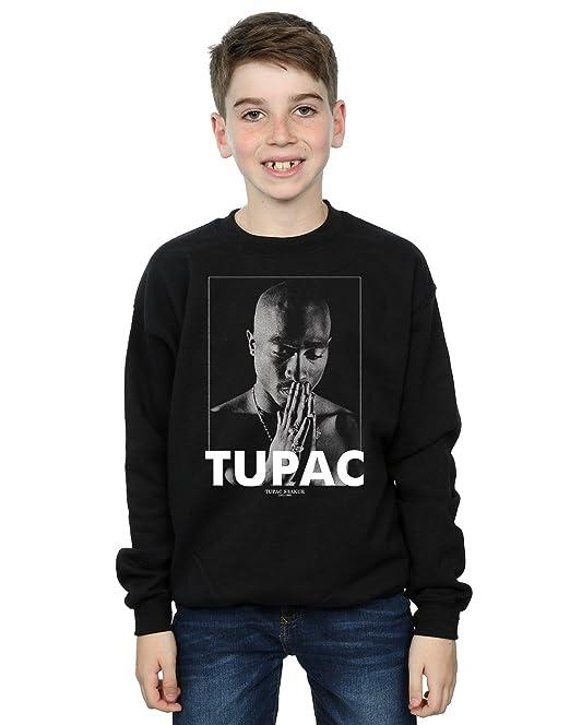 339f10d81 2Pac niños Tupac Shakur Praying Camisa De Entrenamiento  Amazon.es  Ropa y  accesorios