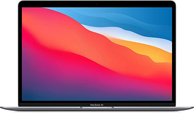New Apple MacBook Air with Apple M1 Chip (13-inch, 8GB RAM, 256GB SSD Storage) - Space Gray (Latest Model) | Amazon