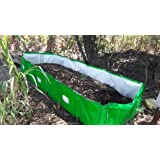 Mipatex 450 GSM HDPE Organic Vermi Compost Maker Bed, 12ft x 4ft x 2ft (Green)