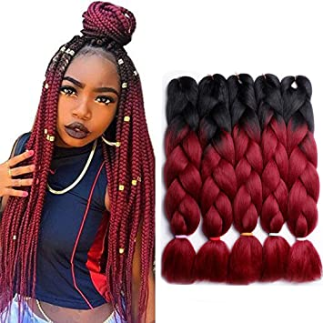 LAREALLEE Braid Ombre Braiding Hair X-pression