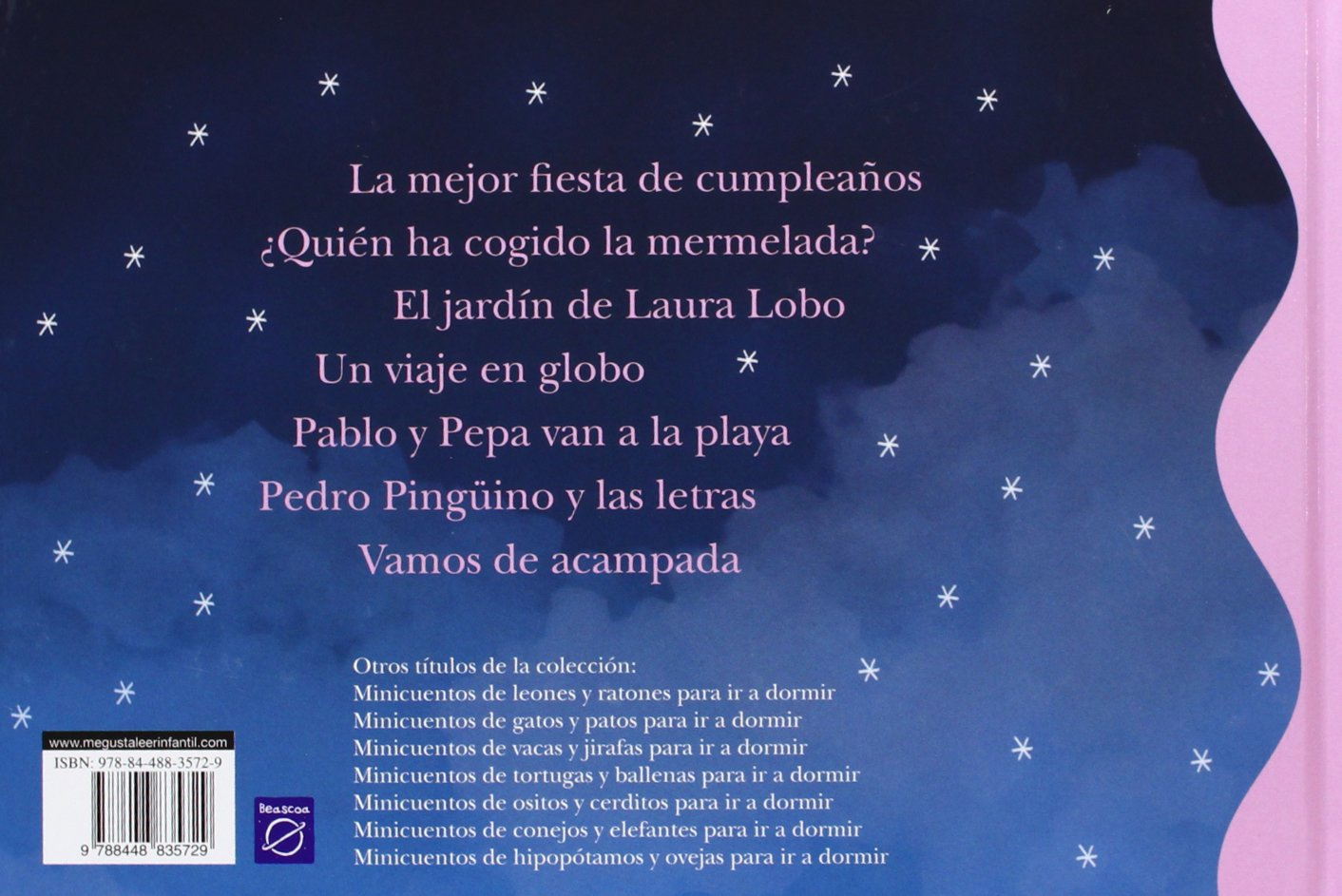 Minicuentos de lobos y pingüinos para ir a dormir / Minicuentos Of Wolves And Penguins To Go to sleep (Spanish Edition): Magela Ronda, ...