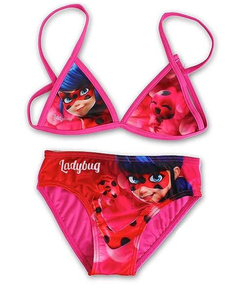 Amazon.com: Miraculous Ladybug Niñas bañadores Bañador para ...