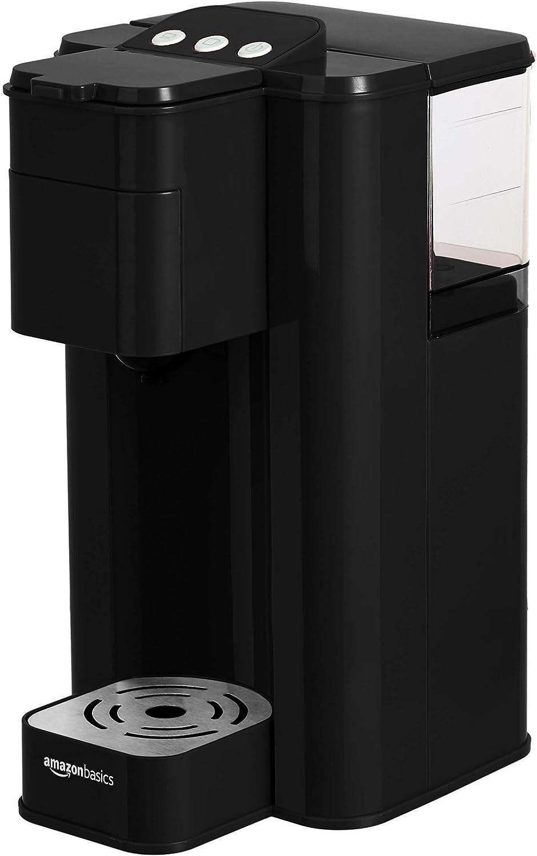 AmazonBasics Single Serve Capsule Coffee Maker, Black