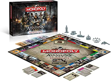 Assassins Creed Syndicate - Monopoly Juego de mesa Standard ...