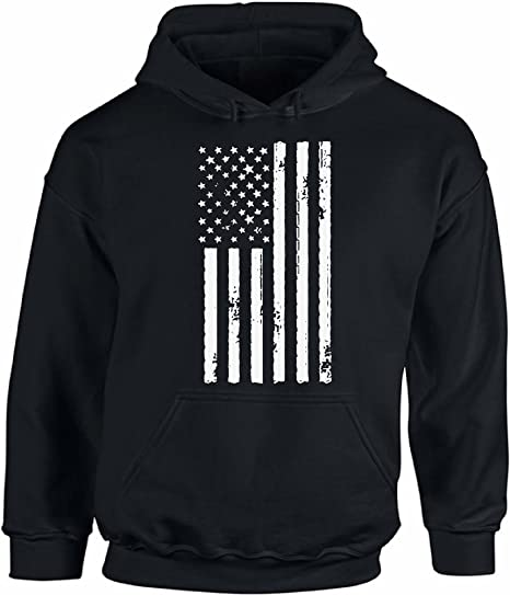 American Flag Sweatshirt Patriot Stars and Stripes USA 4th of July Sweater