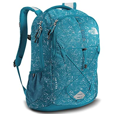 aa992f3aca The North Face Women s Women s Jester Algiers Blue Leaf Print Algiers Blue  ...