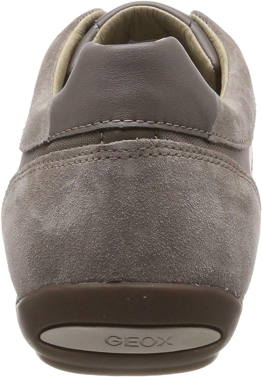 diseño novedoso unos dias volumen grande Geox zapatillas para hombre acolchada ravex en Azul Marino