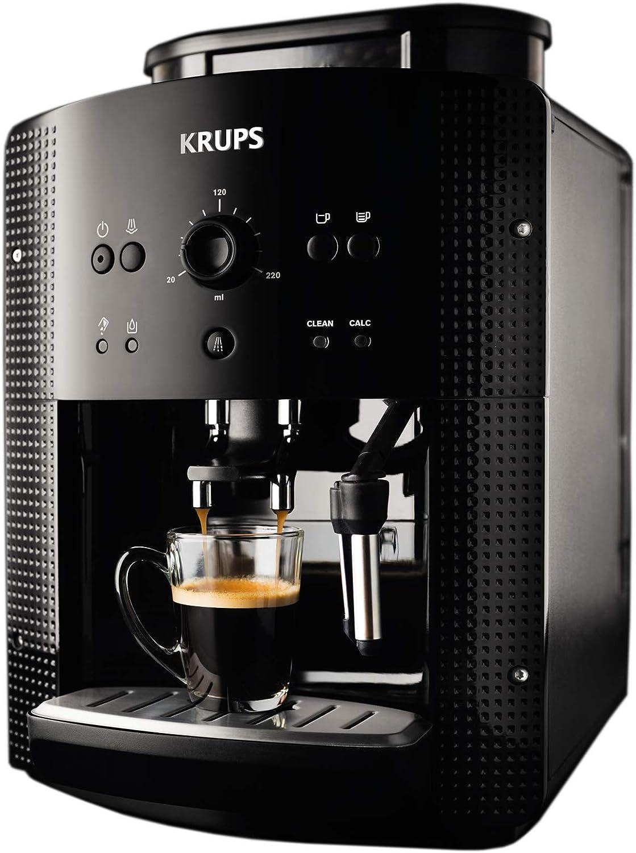 Krups EA8108 Roma - Cafetera Superautomática, 15 bares, molinillo ...