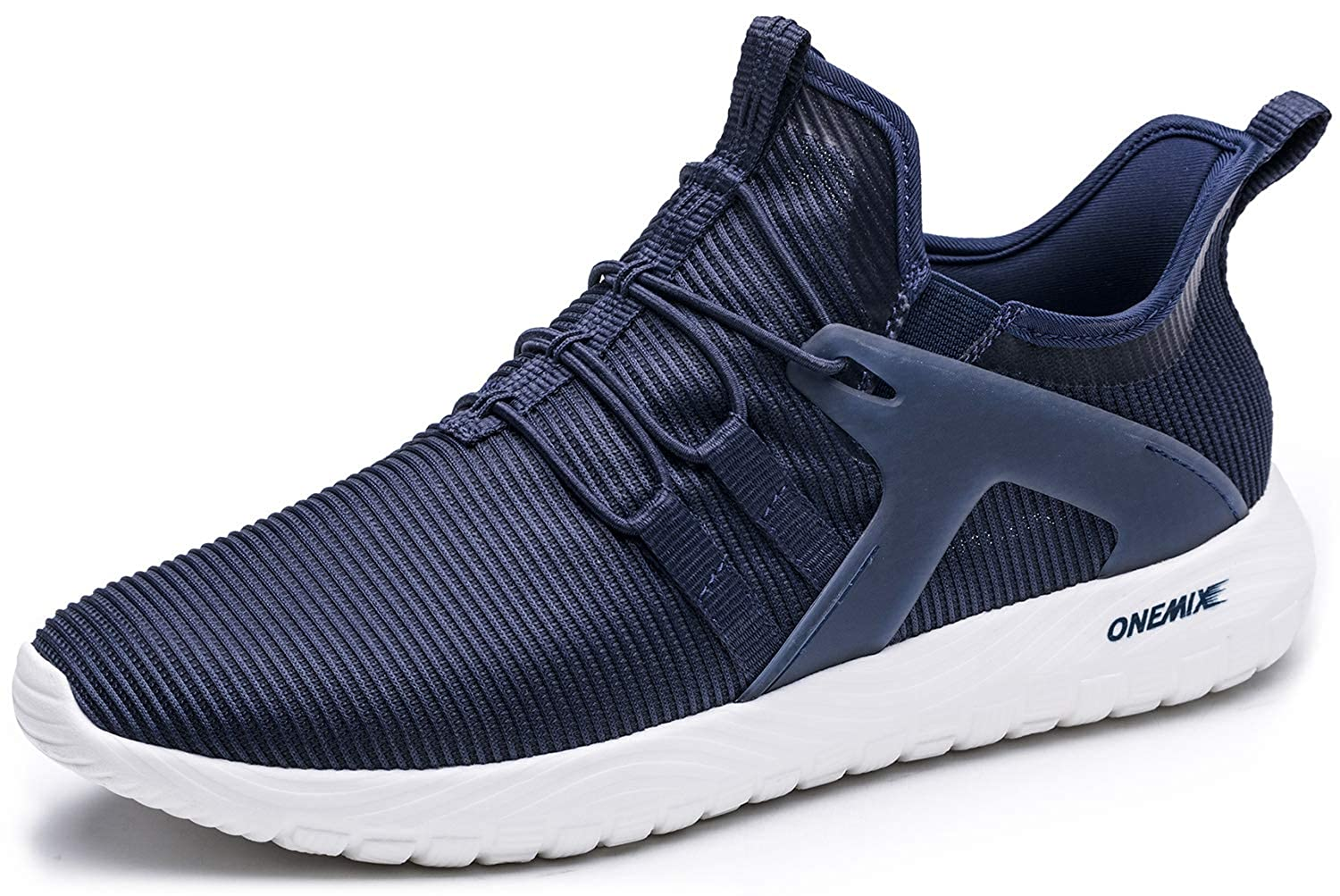 ONEMIX Slip-On Running Shoes Men - Lightweight Casual Sports Cushioning Sneakers