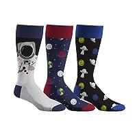 Densley & Co Men's Fun Dress Socks 3-Pack (Various Designs)