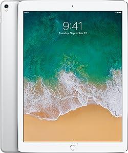 Apple iPad Pro 2 12.9in (2017) 64GB, Wi-Fi - Silver (Renewed)