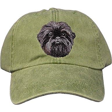 2259b215ce8 Cherrybrook Dog Breed Embroidered Adams Cotton Twill Caps - Spruce -  Affenpinscher