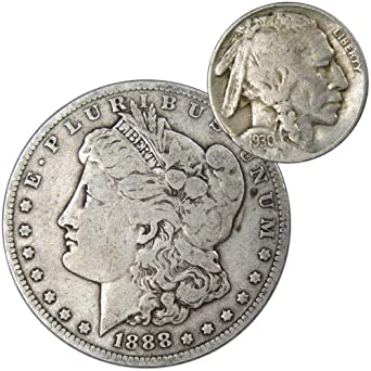 Gem Brilliant Uncirculated Morgan Silver Dollar United States Mint Coin