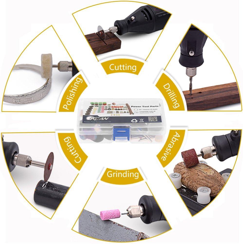 141pcs Mini Power Rotary Tools Kit Electric Grinder Tool Accesorios Kit Grinding Pulido Taladro Conjunto de Corte de Taladro