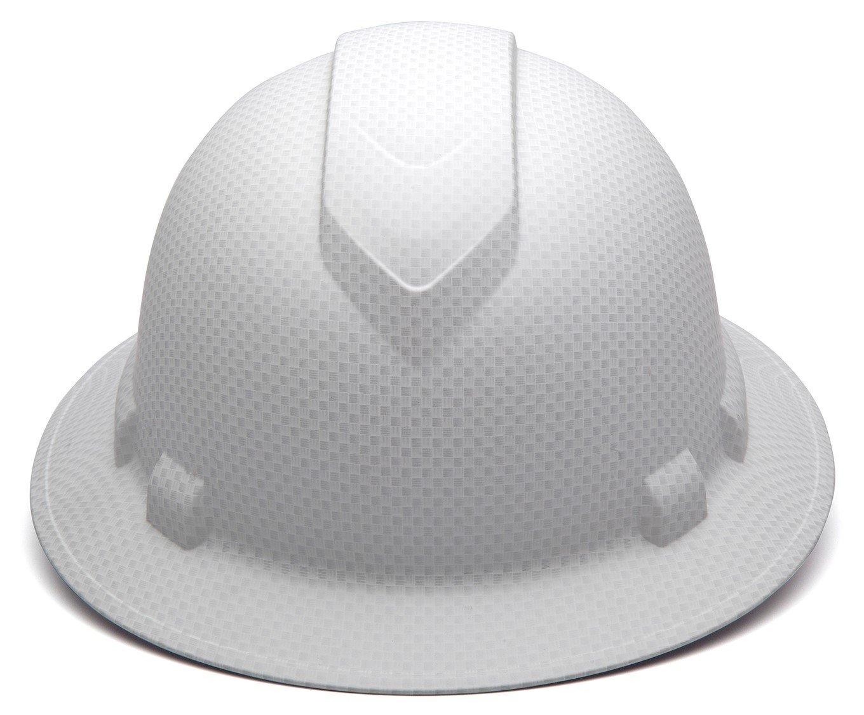 Ridgeline Full Brim 4 Pt Ratchet Suspension Hard Hat