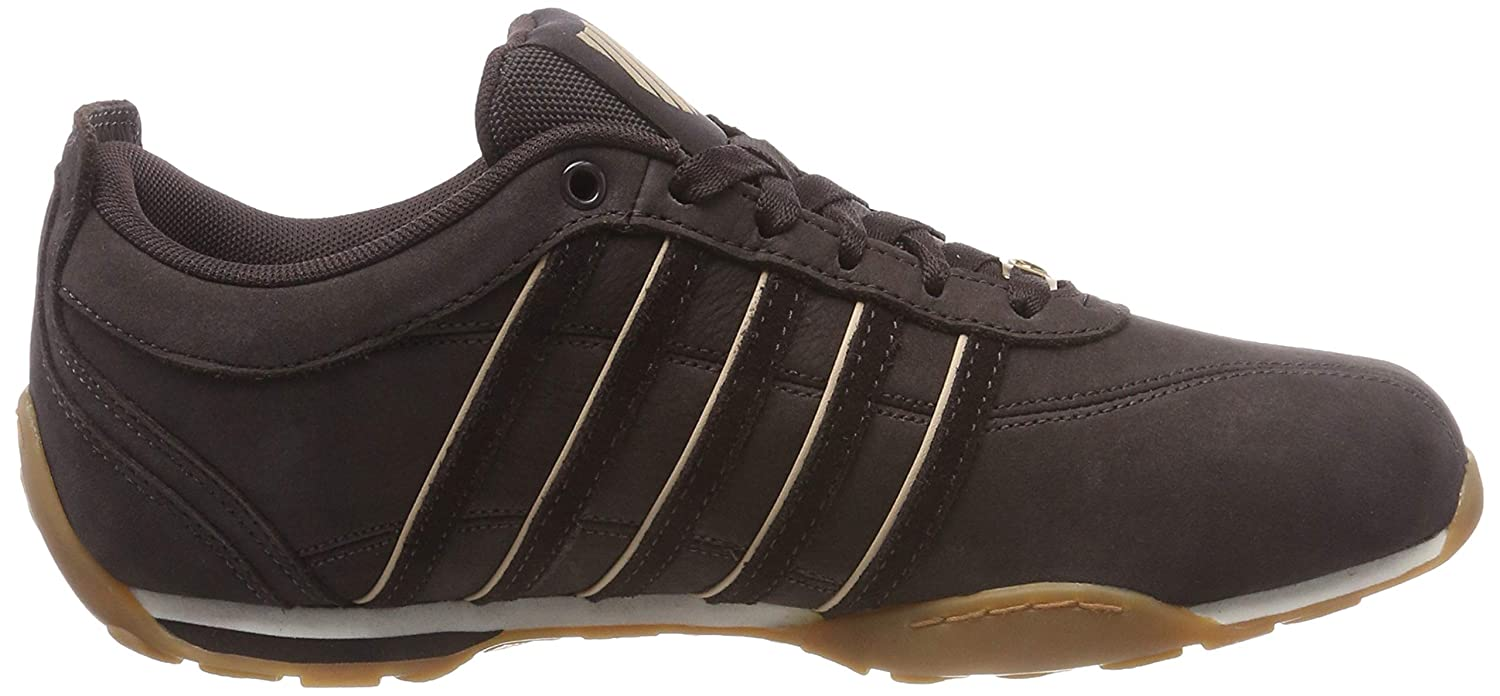 K-Swiss Mens Arvee 1.5 Leather Trainers White
