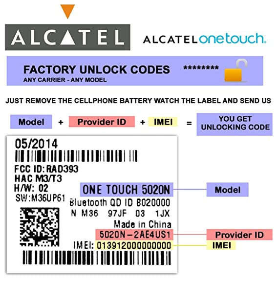 How To Unlock Alcatel Phone With Code ✓ The FIAT Car